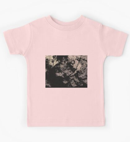 Forest trees at night Kids Tee