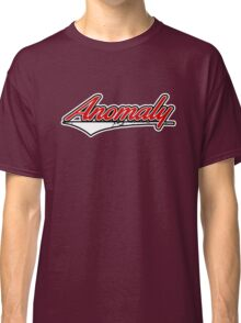 Anomaly Stripes Red Classic T-Shirt
