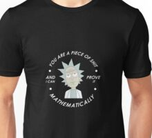 rick and morty mathematical Unisex T-Shirt