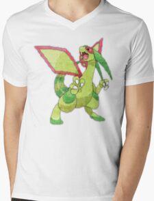 flygon Mens V-Neck T-Shirt