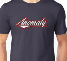 Anomaly Stripes White Unisex T-Shirt