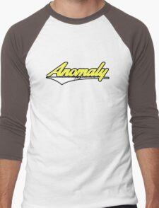 Anomaly Stripes Yellow Men's Baseball ¾ T-Shirt