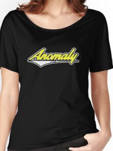Anomaly Stripes Yellow Women's Relaxed Fit T-Shirt