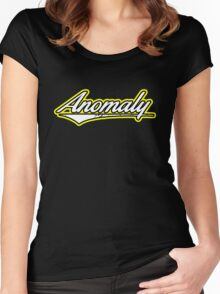 Anomaly Yellow Stripes Women's Fitted Scoop T-Shirt