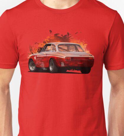 Exploding Sunset Unisex T-Shirt