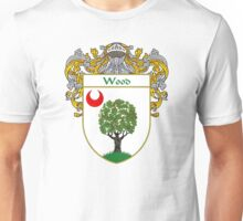 Wood Coat of Arms / Wood Family Crest Unisex T-Shirt