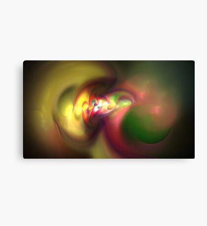Paint Swirls Canvas Print