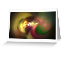 Paint Swirls Greeting Card