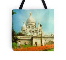 Sacre Coeur, Paris, France Tote Bag