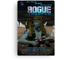 Rogue Trooper Engineered for War Canvas Print