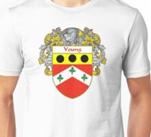 Young Coat of Arms / Young Family Crest Unisex T-Shirt