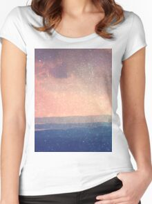Landscape 03 Women's Fitted Scoop T-Shirt