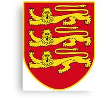 Jersey Coat of Arms Canvas Print