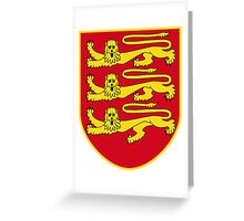 Jersey Coat of Arms Greeting Card
