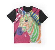 Punk Zebra Graphic T-Shirt