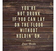 Drunk  Photographic Print