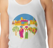 Town Square  Tank Top