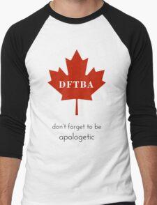 DFTBApologetic Men's Baseball ¾ T-Shirt