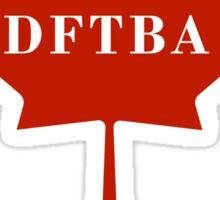 DFTBApologetic Sticker