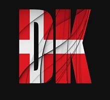 DK - Danmark Flag Unisex T-Shirt
