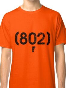 Area Code 802 Vermont Classic T-Shirt