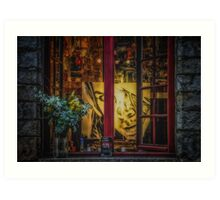 Window of a Painter Art Print
