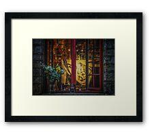 Window of a Painter Framed Print