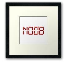Noob Digital Framed Print