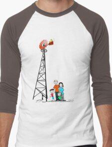 Just Add Wind Men's Baseball ¾ T-Shirt