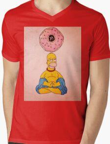 Bouda Homer Mens V-Neck T-Shirt