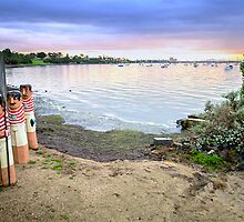 Western Beach - Geelong Victoria by bekyimage