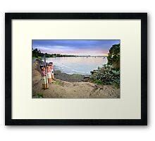 Western Beach - Geelong Victoria Framed Print