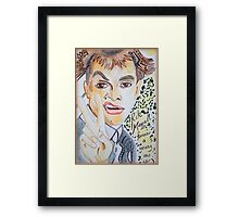 The Man Of Comedy Framed Print
