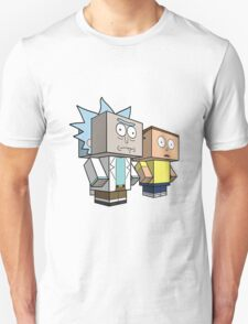 rick and morty meet minecraft Unisex T-Shirt