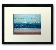 It's Got to Be the Water original painting Framed Print