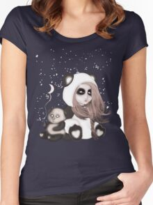 Find the place you call home among the stars Women's Fitted Scoop T-Shirt