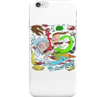 rick and morty monster iPhone Case/Skin