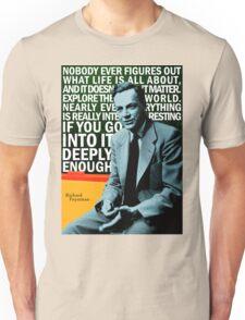 Richard Feynman Unisex T-Shirt