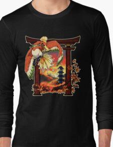 Heart Gold Long Sleeve T-Shirt