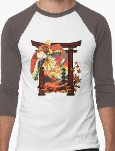 Heart Gold Men's Baseball ¾ T-Shirt