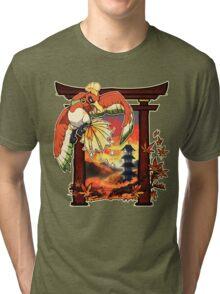 Heart Gold Tri-blend T-Shirt