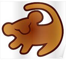 Lion King Mark Poster