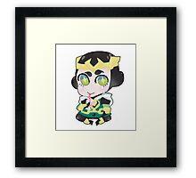 Young Avengers || Kid Loki Framed Print