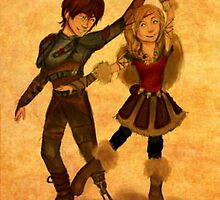 """How to Train Your Dragon 2 """"For the Dancing and the Dreaming"""" by Faye' D-Arts"""