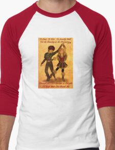 """How to Train Your Dragon 2 """"For the Dancing and the Dreaming"""" Men's Baseball ¾ T-Shirt"""
