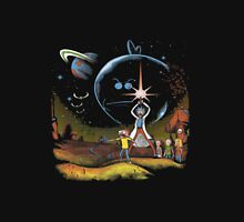 rick and morty Space Unisex T-Shirt