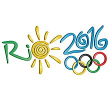 Olympic Games Rio 2016 Photographic Print
