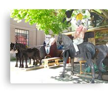 Giddyup at St. Jacobs Metal Print