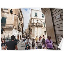 Italy, lecce Poster