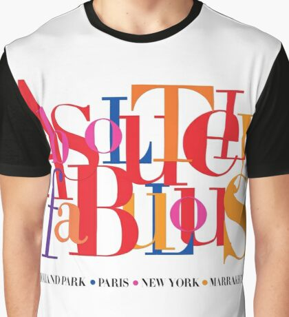 Absolutely Fabulous Holland Park Graphic T-Shirt